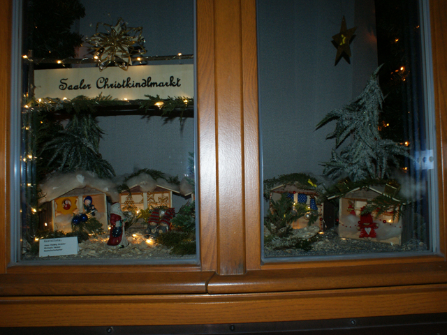 Adventsfensteraktion Saal a.d. Donau