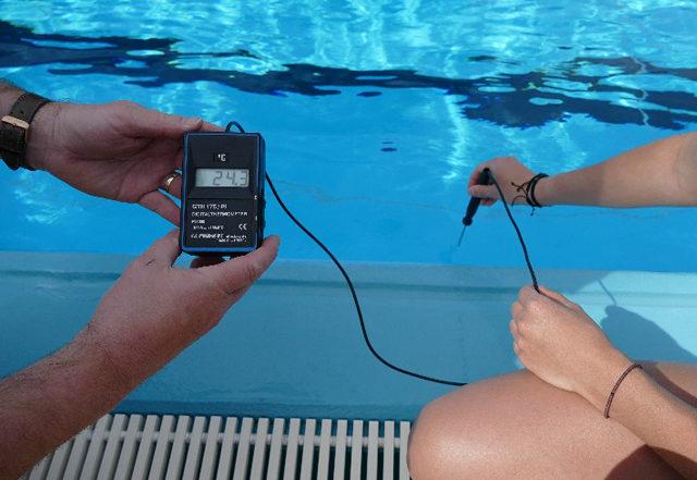 Wassertemperatur Freibad Rohr i.NB