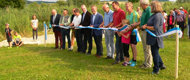 Eröffnung der Labertaler Storchenroute